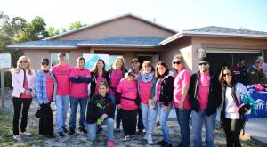 Signature Gives Back Nails It with Habitat for Humanity®