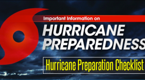 Hurricane Preparedness - Be Ready